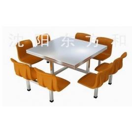 八人快餐桌椅样式2