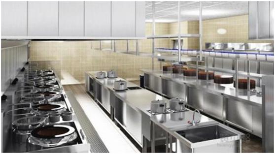 商用厨房设备,必须进行多方向发展